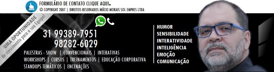Palestrante Motivacional Múcio Morais Entrevista